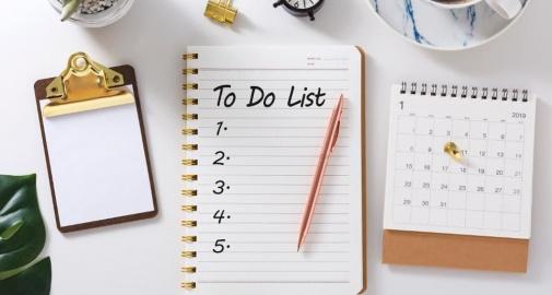 5 Phút mỗi ngày Lập Kế Hoạch làm việc Theo Mức Độ Ưu Tiên Giảm Dần!